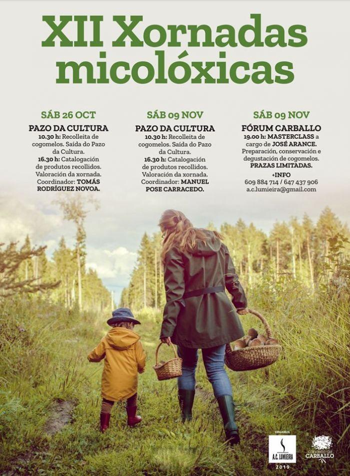 XII Jornadas Micológicas de Carballo
