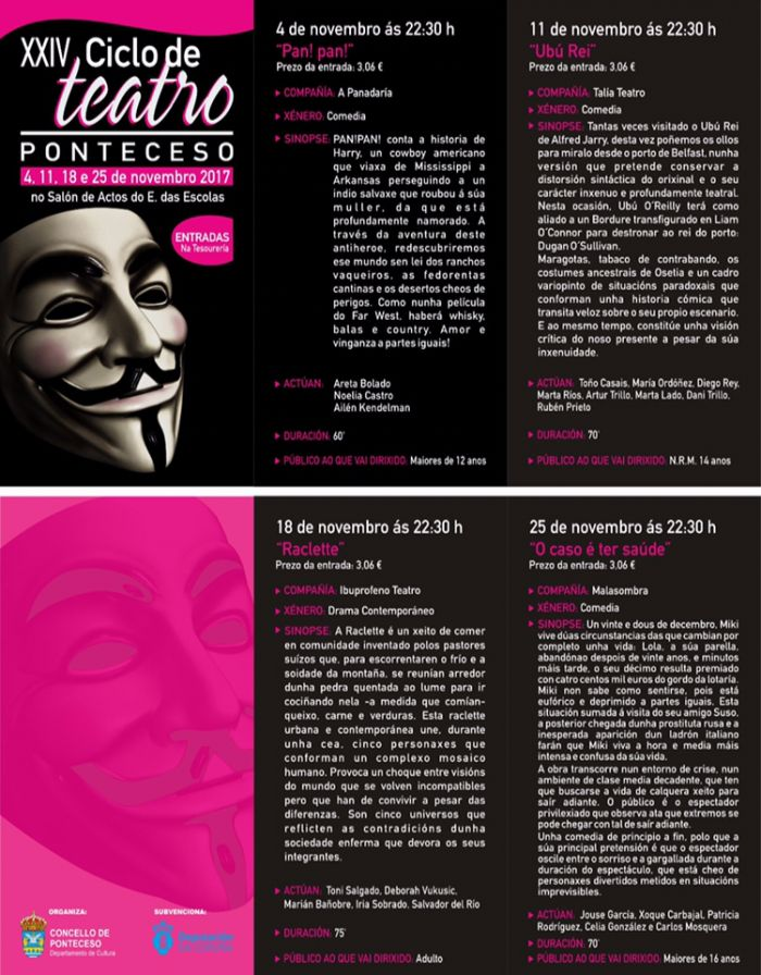 XXIV Edition of  Theatre of Ponteceso